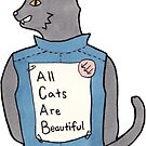 All Cats Are Beautiful by tsfnis