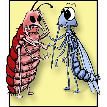 Skeeter and Bedbug by bhymer