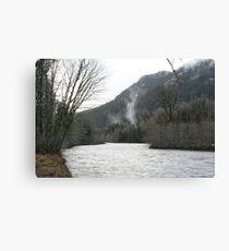 """Elwha River Flood"" Canvas Print"