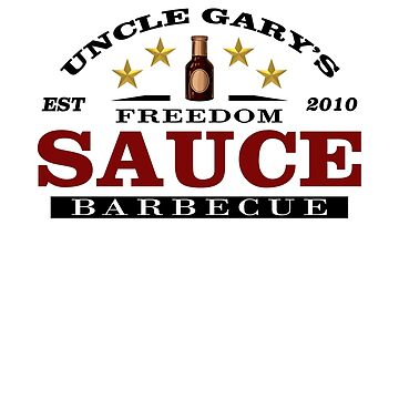 Uncle Gary's Freedom BBQ Sauce by RedHotShop
