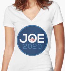 Joe Biden 2020 Tailliertes T-Shirt mit V-Ausschnitt
