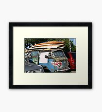 Hawaii Volkswagen Framed Print