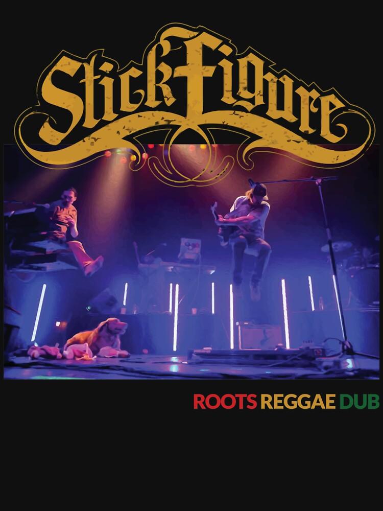 Strichmännchen Wurzeln Reggae Dub von kevintwister