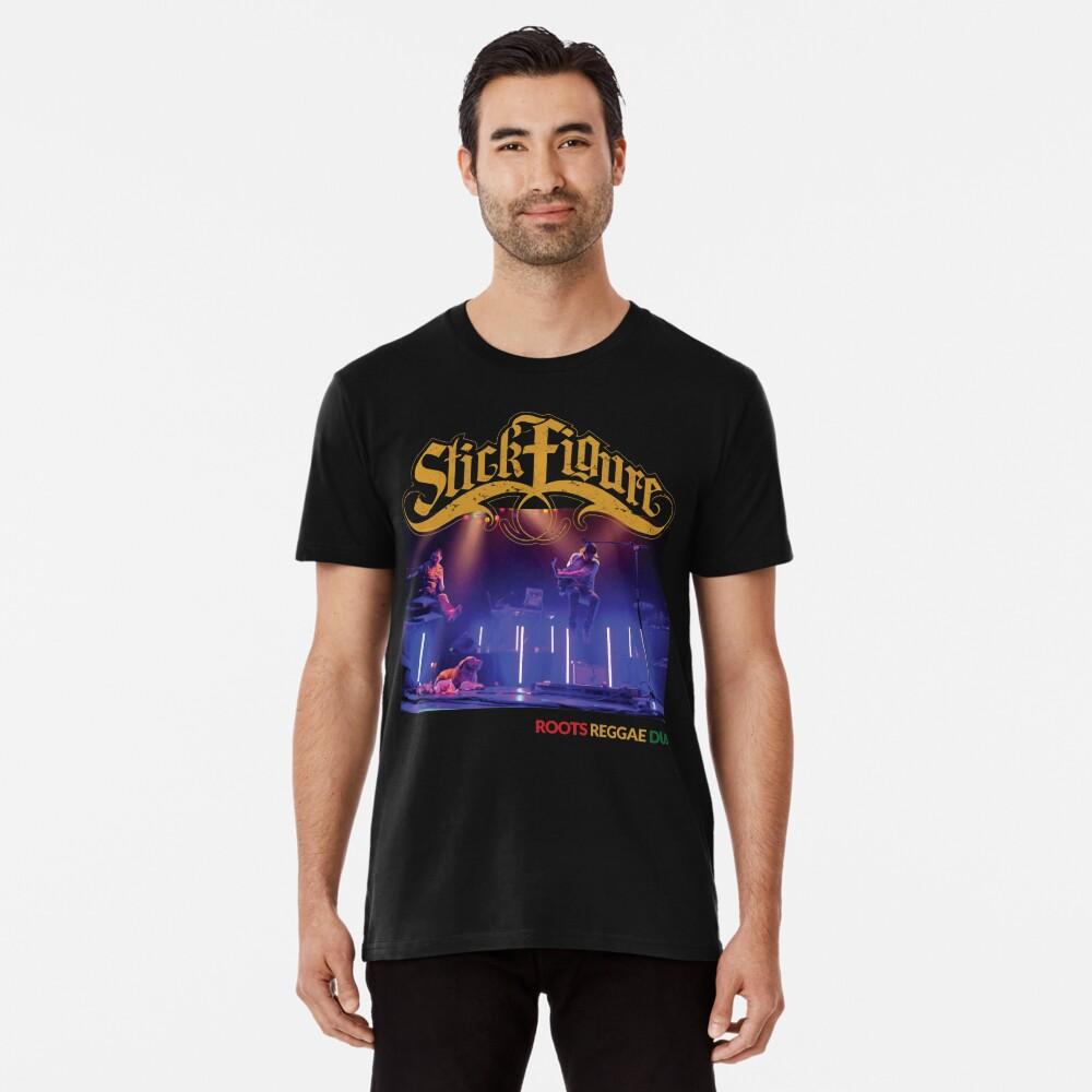 Strichmännchen Wurzeln Reggae Dub Premium T-Shirt