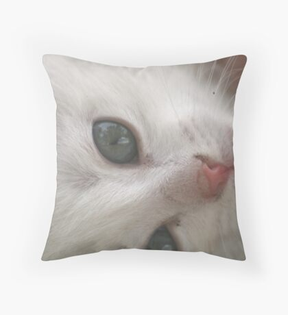 Just Purrfect Throw Pillow