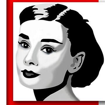 Audrey Hepburn von ImageNation