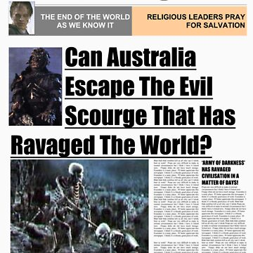 7 Days Later - The Daily Telegraph by Saxivore