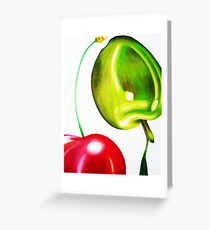 Cherry & Olive Greeting Card