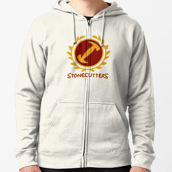 Stonecutters Zipped Hoodie
