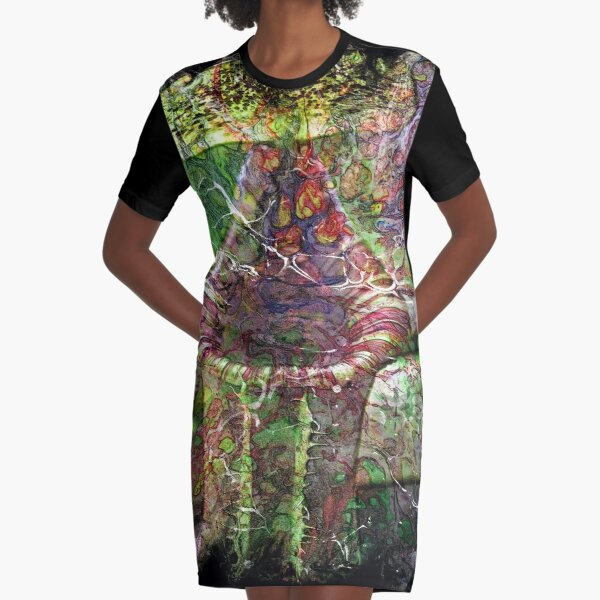 The Atlas of Dreams - Color Plate 119 Graphic T-Shirt Dress