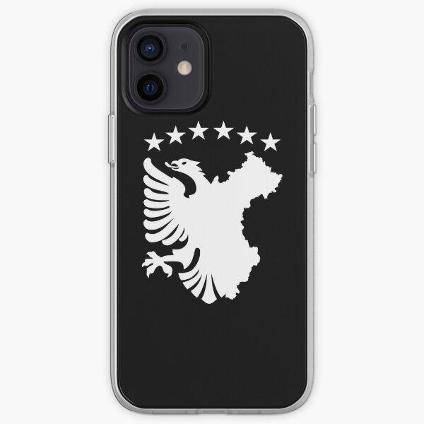 Shqipe - Drapeau Autochtone Coque souple iPhone