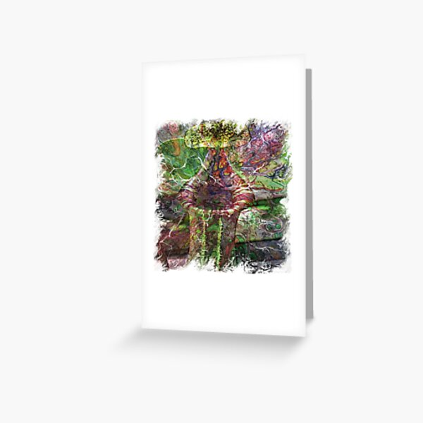 The Atlas of Dreams - Color Plate 119 Greeting Card
