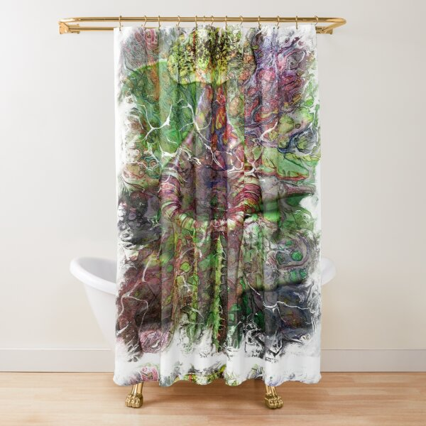 The Atlas of Dreams - Color Plate 119 Shower Curtain