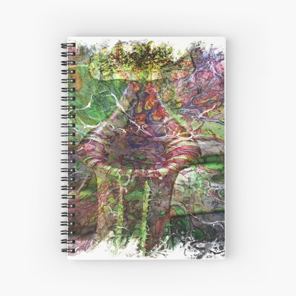 The Atlas of Dreams - Color Plate 119 Spiral Notebook