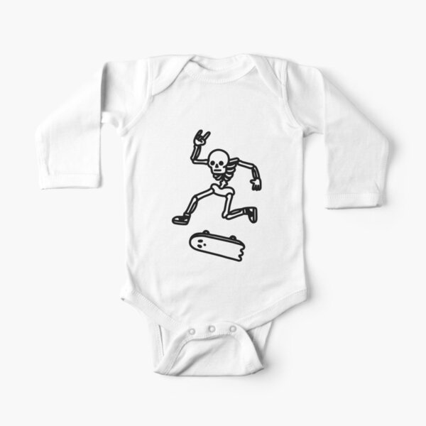 Rad In Peace Long Sleeve Baby One-Piece