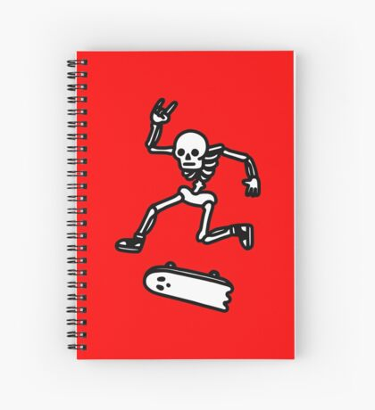 Rad In Peace Spiral Notebook