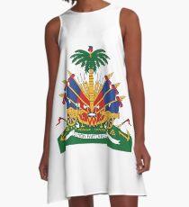 Haiti's Coat of arms A-Line Dress