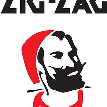 Zig Zag Man by LeakyLake