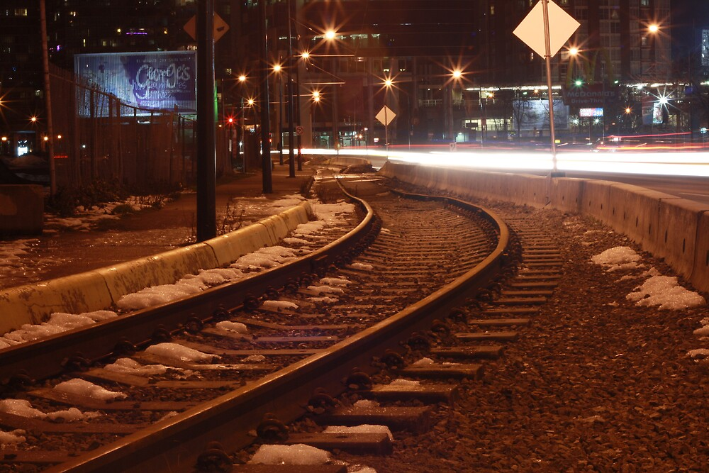 Railway to light by TCostelloe