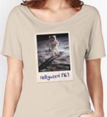 Fake Moon Landing Conspiracy Shirt Women's Relaxed Fit T-Shirt