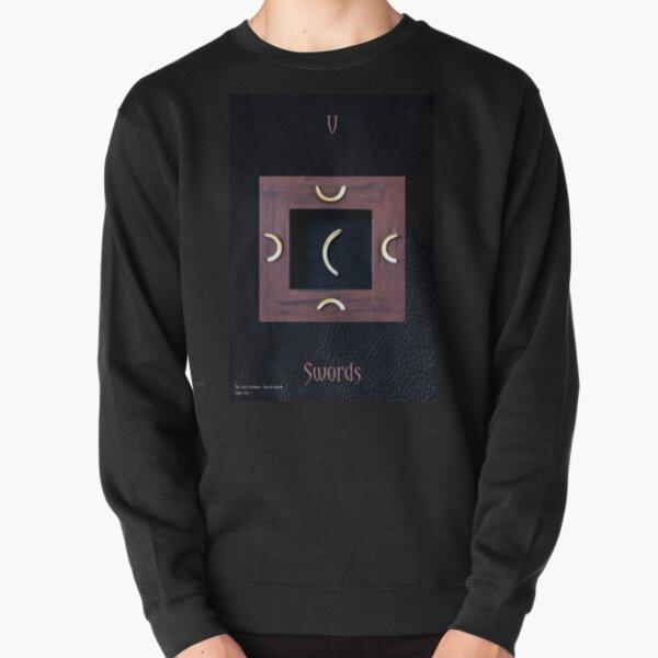 Five of Swords Pullover Sweatshirt