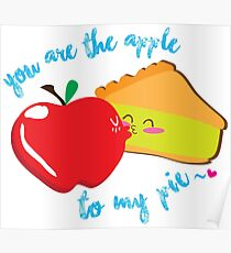 Pay y manzana/ Apple to my pie Poster