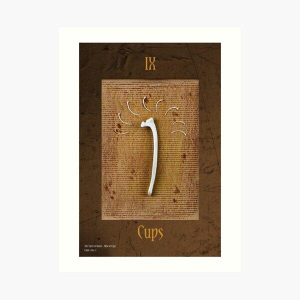 Nine of Cups Art Print