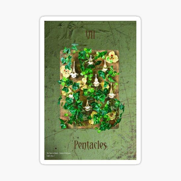 Seven of Pentacles Sticker