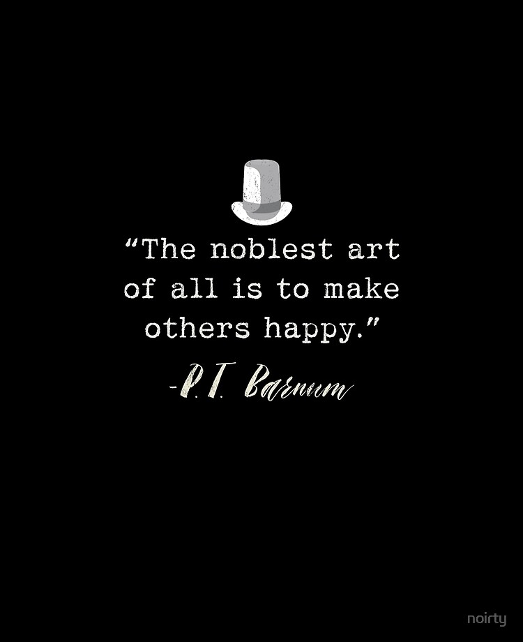 Circus Ring Master P T Barnum Quote Ipad Case Skin By Noirty Redbubble