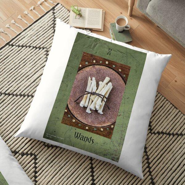 Ten of Wands Floor Pillow