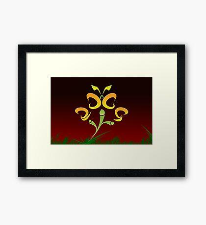 2009 will flutter by... Framed Print