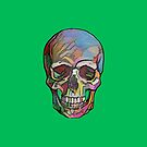 The Happy Skull (Green) by Diego-t