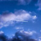 Jet-Setting the New Moon by Kenneth Haley