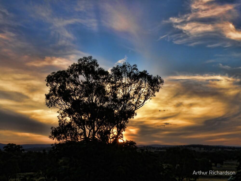 Sunset at Home Tonight by Arthur Richardson