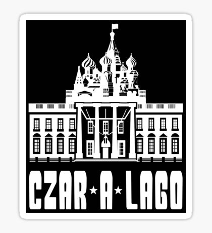 Czar A Lago Sticker