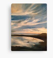 Shoals of Cape Fear Canvas Print