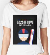 2018 Pyeongchang Olympics Women's Relaxed Fit T-Shirt