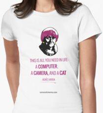 Agnès Varda, le bonheur Women's Fitted T-Shirt