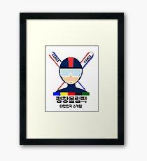 2018 Pyeongchang Olympics 2 Framed Print
