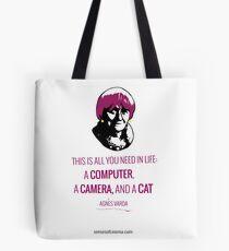 Agnès Varda, le bonheur Tote Bag