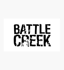 Battle Creek Photographic Print