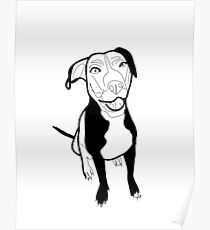 Mocha Dog Poster