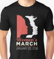 women's march , january- 20 - 2018 Unisex T-Shirt