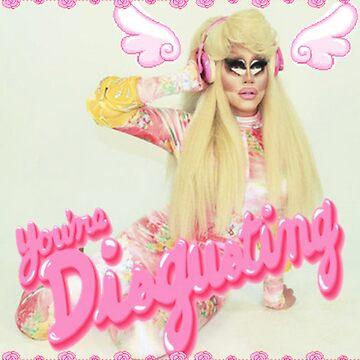 Trixie Mattel  by arealprincess