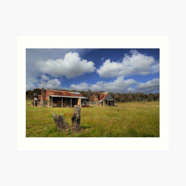 Coolamine Homestead - Kosciuszko National Park Art Print