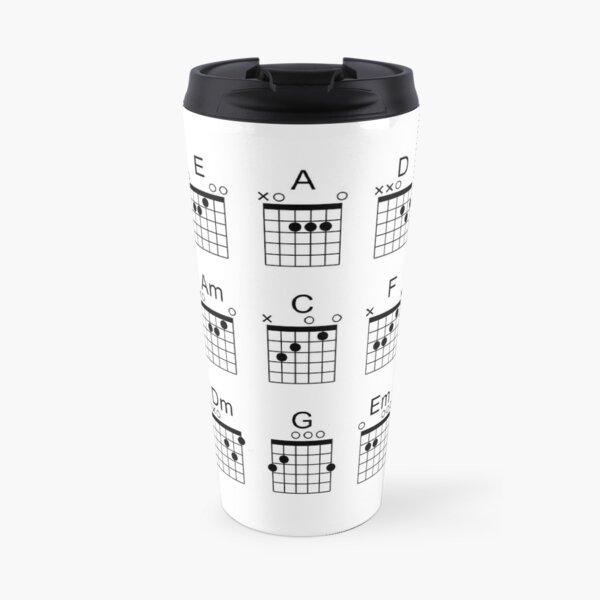 Guitar Chords Travel Mug