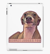Kermit judges you iPad Case/Skin