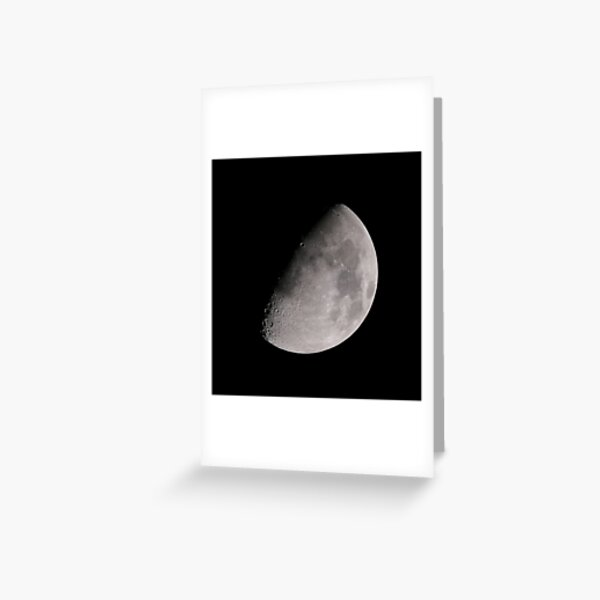 THE MOON PART 2 Greeting Card