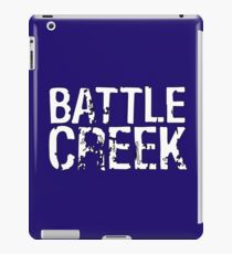 Battle Creek - White iPad Case/Skin