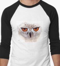 White Owl Men's Baseball ¾ T-Shirt
